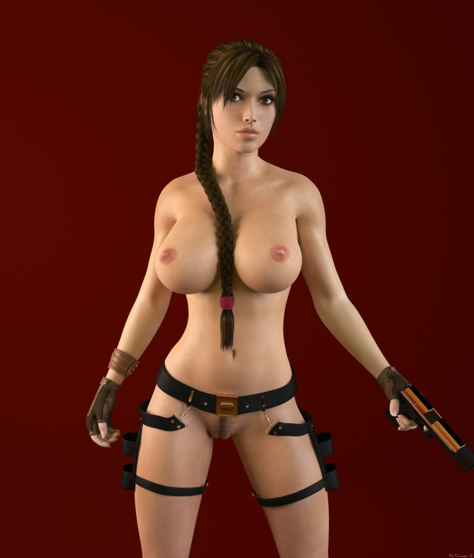 Tomb raider game character nude fucks video
